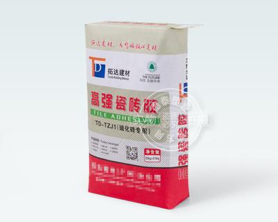 高强瓷砖胶建材纸袋